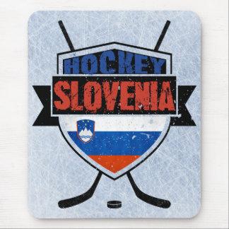 Slovenia Ice Hockey Shield Mouse Pad