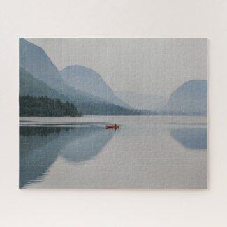 Slovenia Jigsaw Puzzle - Lake Bohinj