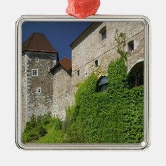 SLOVENIA, Ljubljana: Castle Hill / Ljubljana Metal Ornament