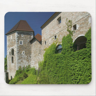 SLOVENIA, Ljubljana: Castle Hill / Ljubljana Mouse Pad