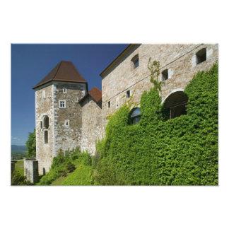 SLOVENIA, Ljubljana: Castle Hill / Ljubljana Photo Print