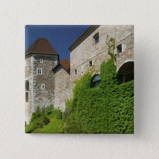 SLOVENIA, Ljubljana: Castle Hill / Ljubljana Pinback Button