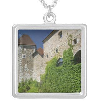 SLOVENIA, Ljubljana: Castle Hill / Ljubljana Silver Plated Necklace