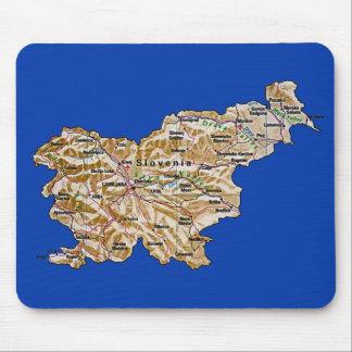 Slovenia Map Mousepad