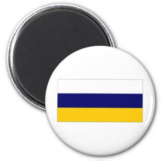 Slovenia Naval Ensign 2 Inch Round Magnet