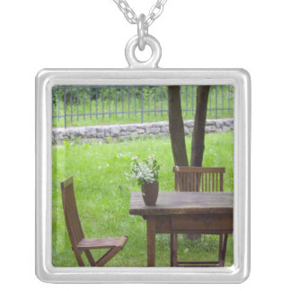 SLOVENIA, PRIMORSKA, Spodnja Idrija: Table on Personalized Necklace
