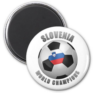 SLOVENIA SOCCER CHAMPIONS 2 INCH ROUND MAGNET