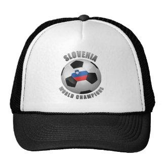 SLOVENIA SOCCER CHAMPIONS MESH HAT