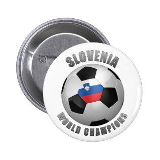 SLOVENIA SOCCER CHAMPIONS PINBACK BUTTON