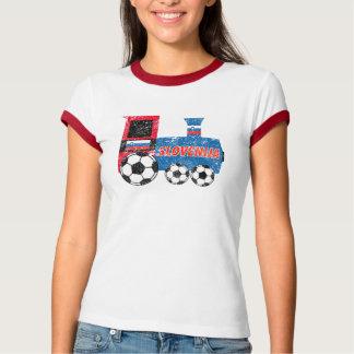 Slovenia Soccer Engine T-Shirt