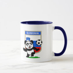 Combo Mug with Slovenia Football Panda design
