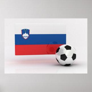 Slovenia Soccer Poster