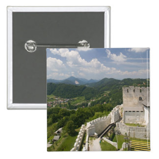 SLOVENIA, STAJERSKA Styria), Celje: Town View Buttons