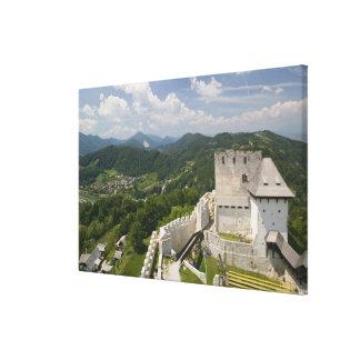 SLOVENIA, STAJERSKA Styria), Celje: Town View Gallery Wrapped Canvas