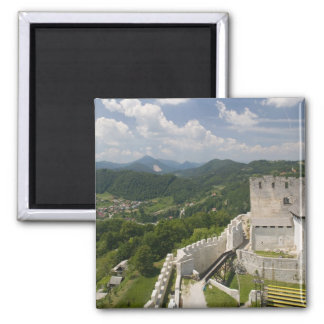 SLOVENIA, STAJERSKA Styria), Celje: Town View Refrigerator Magnet