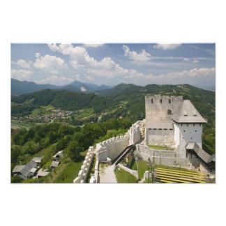 SLOVENIA, STAJERSKA Styria), Celje: Town View Photo Art