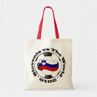 Slovenia vs The World Canvas Bags