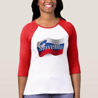 Slovenia Waving Flag T-Shirt