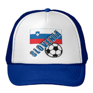 SLOVENIA World Soccer Fan Tshirts Trucker Hat
