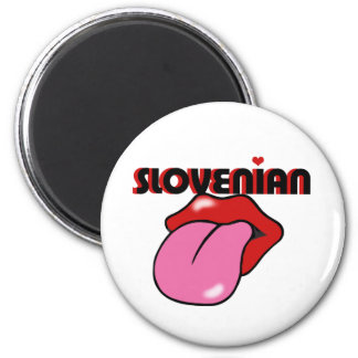 Slovenian 2 Inch Round Magnet