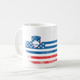 Slovenian American Flag   Slovenia and USA Design Coffee Mug