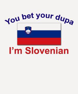 Slovenian Dupa (Flag) T-Shirt