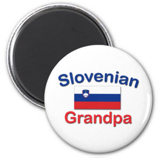 Slovenian Grandpa 2 Inch Round Magnet