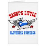 Slovenian Princess designs Card