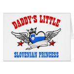 Slovenian Princess designs Cards