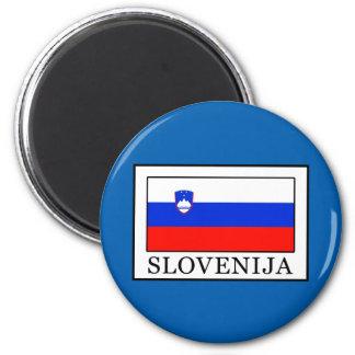 Slovenija 2 Inch Round Magnet