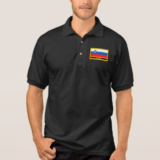 Slovenija Flag Polo Shirt