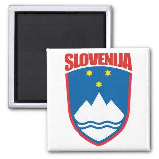 Slovenija (Slovenia) 2 Inch Square Magnet