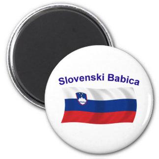 Slovenski Babica (Grandma) 2 Inch Round Magnet