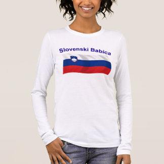 Slovenski Babica (Grandma) Long Sleeve T-Shirt