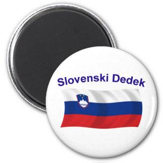 Slovenski Dedek (Grandpa) 2 Inch Round Magnet