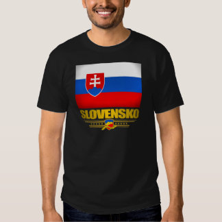 Slovensko (Slovakia) Flag T-shirt