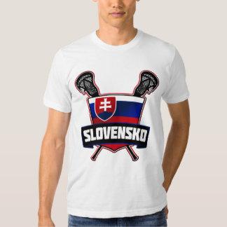 Slovensko Slovakia Lacrosse T-shirt