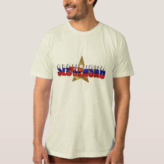 Slovensko Super stars flag of Slovaki gifts T-Shirt