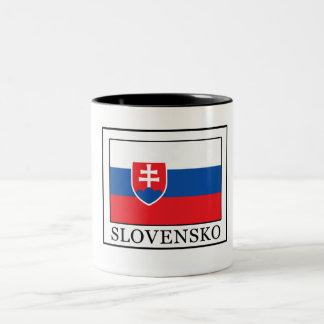 Slovensko Two-Tone Coffee Mug