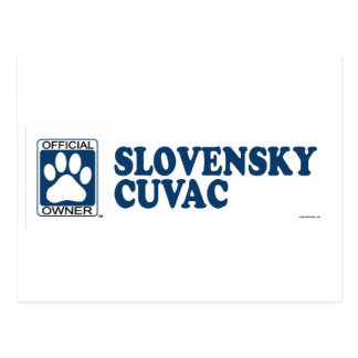 SLOVENSKY CUVAC_blue Post Cards