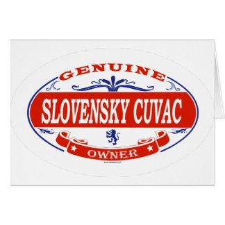 SLOVENSKY CUVAC_ GREETING CARD