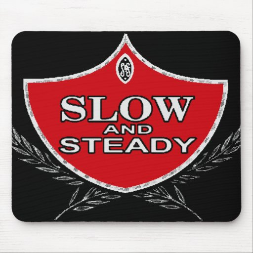 Slow And Steady Mouse Pads