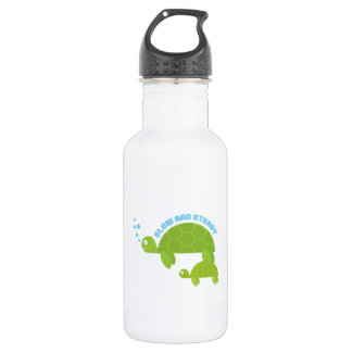 Slow and Steady 18oz Water Bottle