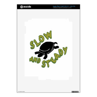 Slow And Steady Skin For iPad 3