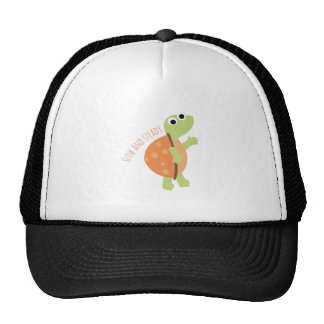 Slow And Steady Trucker Hat