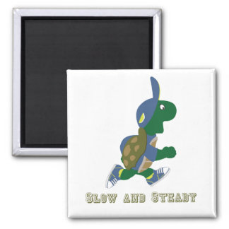 Slow and Steady Turtle Magnet
