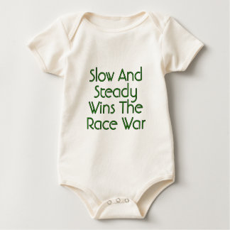 Slow and Steady Wins The Race War Baby Bodysuit