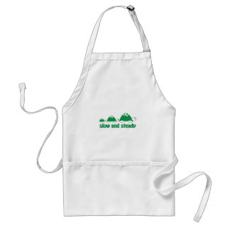 Slow and Stready Apron