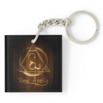 Slow Apollo Logo Keychain