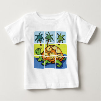 """""""SLOW AS A TURTLE"""""""" BABY T-Shirt"""